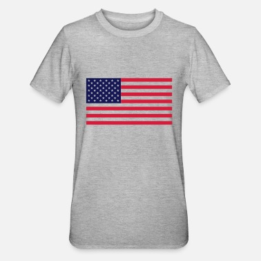 Stars And Stripes usa_flag - Unisex polycotton T-shirt