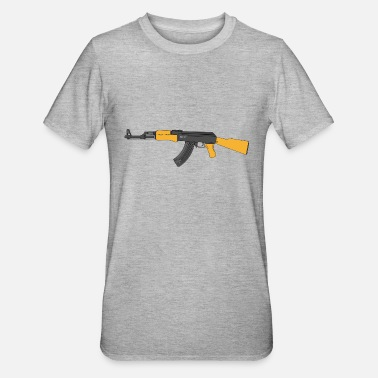 Machine Gun machine gun - Unisex Polycotton T-Shirt