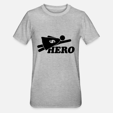 Super Hero Super Hero Man - Unisex Polycotton T-shirt