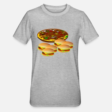 Turin pizza pizzeria food food restaurant58 - Unisex Polycotton T-Shirt