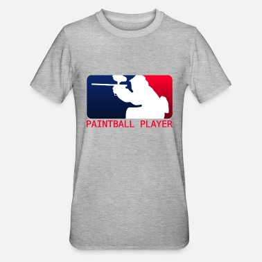 Paintball Paintball spelare - Polycotton-T-shirt unisex