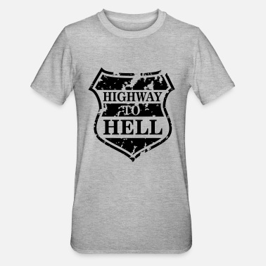 Highway To Hell Highway to Hell - Unisex Polycotton T-skjorte