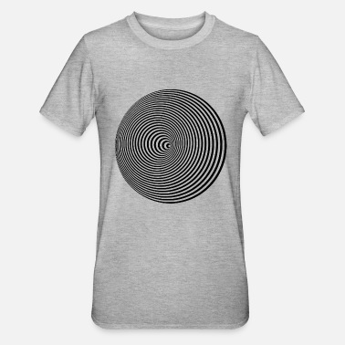 Concentration concentric - Unisex Polycotton T-Shirt