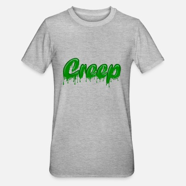 Gloopy Writing Green Gloop Creep - Unisex Polycotton T-Shirt