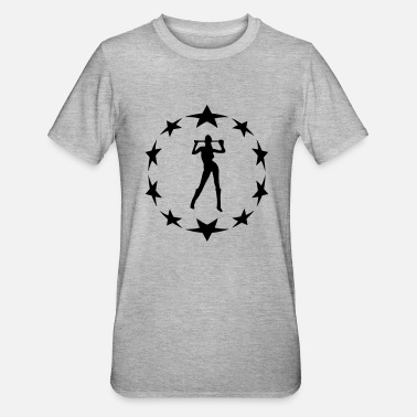 Circle Underwear stars wreath special - Unisex Polycotton T-Shirt