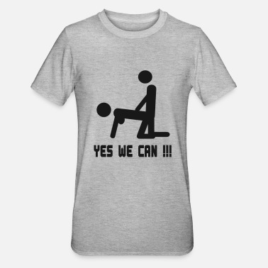 Yes We Can yes we can sex - Maglietta da unisex, mix cotone e poliestere