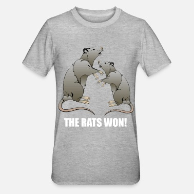 Won THE RATS WON! - Unisex Polycotton T-Shirt