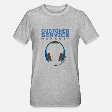 Service Customer Service Manager - Customer Service Manage - Unisex Polycotton T-Shirt