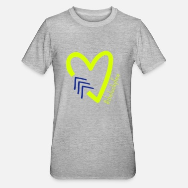 Lucky THE LUCKY FEW HEART | The colorful zebra - Unisex Polycotton T-Shirt