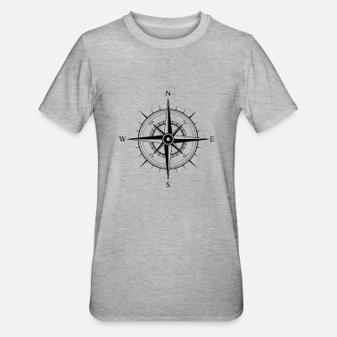 Compass Compass gift idea - Unisex Polycotton T-Shirt