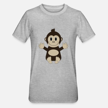 Loui Loui The Ape - Unisex Polycotton T-Shirt