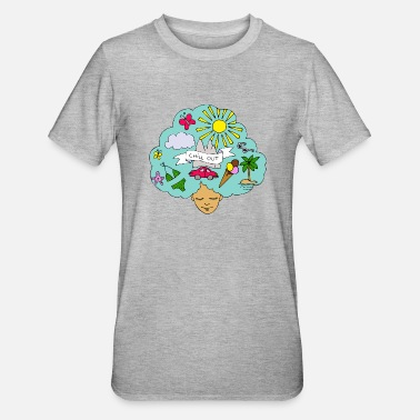 Zomer De zomer is hier! - Unisex Polycotton T-shirt