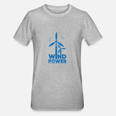 Enviromental Wind power environmental protection gift environment - Unisex Polycotton T-Shirt