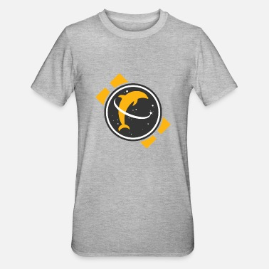 Space Dolphin - Unisex Polycotton T-Shirt