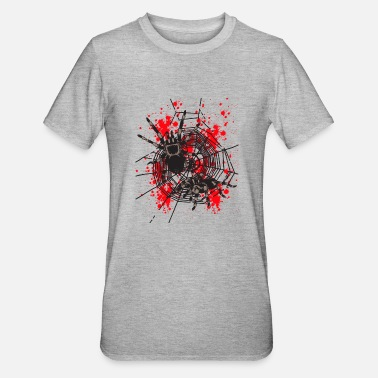 Spiders Spiders in the spider web - Unisex Polycotton T-Shirt