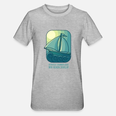 Regatta SAIL CREW gift sailors for sailing team - Unisex Polycotton T-Shirt
