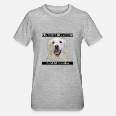 Golden Retriever Golden Retriever & Hund ist harmlos - Unisex Polycotton T-Shirt