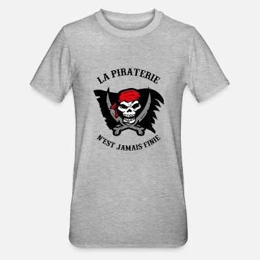 Piraterie pirate - T-shirt polycoton Unisexe