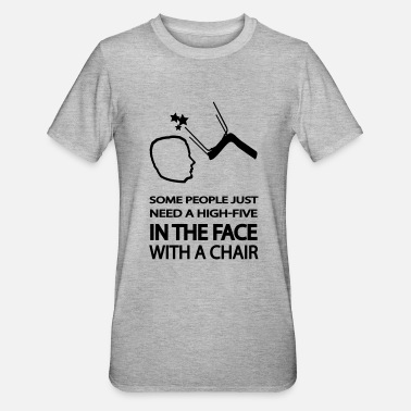 Chair high five in the face - Unisex Polycotton T-Shirt