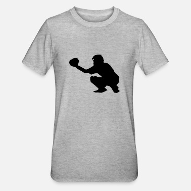 Catcher Softball Sport - Unisex Polycotton T-shirt