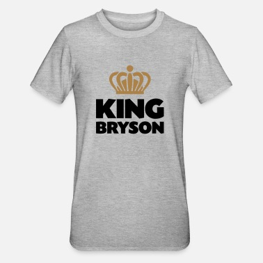 Bryson King bryson name thing crown - Unisex Polycotton T-Shirt