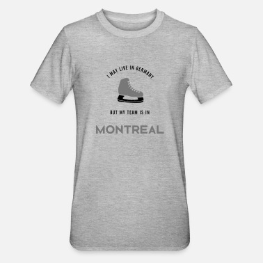 Montreal Montreal - Unisex Polycotton T-Shirt
