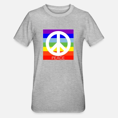 Peace Sign Peace - Unisex Polycotton T-Shirt