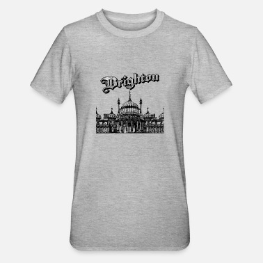 East Sussex Brighton Paviljoen East Sussex - Unisex Polycotton T-shirt