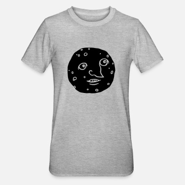 Mond Mond- glow in the dark - Unisex Polycotton T-Shirt