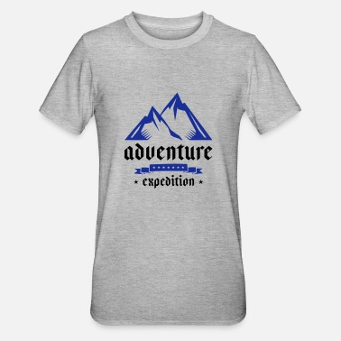 Expedition mountain expedition - Unisex Polycotton T-Shirt