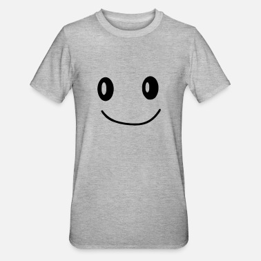 smiley - Polycotton-T-shirt unisex