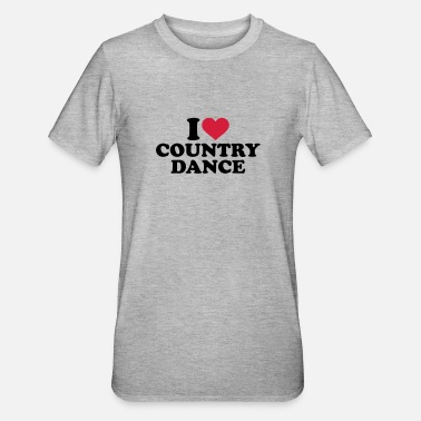 Country I love Country dance - Camiseta en polialgodón unisex