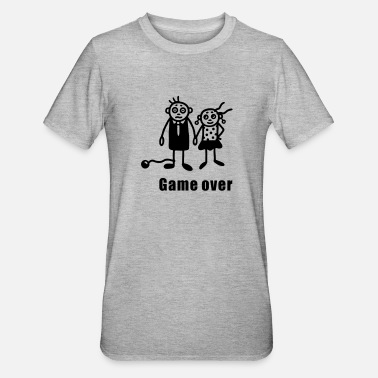 Standesamt Heiraten - Game over - Unisex Polycotton T-Shirt