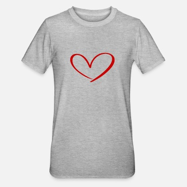 Relationship Hearts Against Hate 315 - Unisex Polycotton T-Shirt