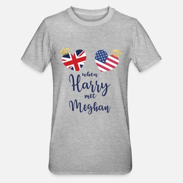 Royal Wedding Crown - Unisex Polycotton T-Shirt