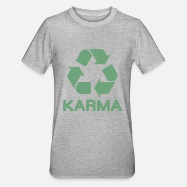 Cool Karma gentagelse gave ide - Unisex polycotton T-shirt