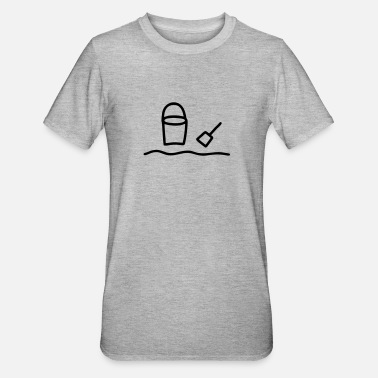 Scoop Bucket & scoop - Unisex Polycotton T-Shirt