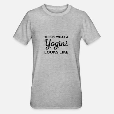 This Is What This Is What A Yogini Looks Like - Maglietta da unisex, mix cotone e poliestere