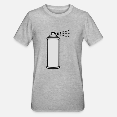 Spray Spray - Unisex polycotton T-shirt