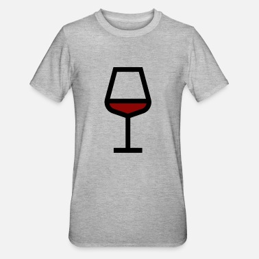 Red Wine Red wine glass, red wine - Unisex Polycotton T-Shirt