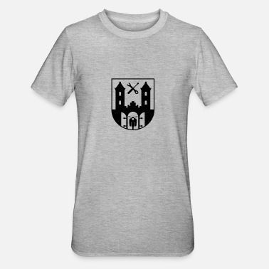 Simson Simson Schwalbe - Suhl Coat of Arms (1c) - Unisex Polycotton T-Shirt