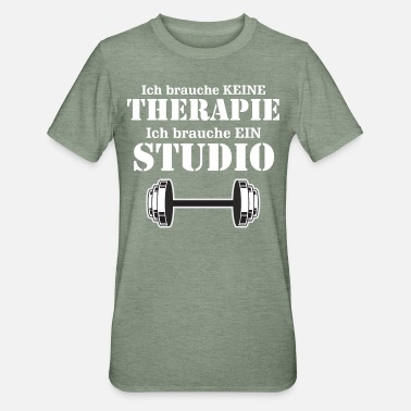 I don't need therapy, need gym - Unisex Polycotton T-Shirt