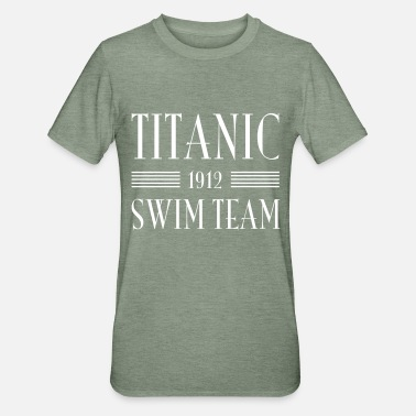 1912 1912 Titanic Swim Team - Unisex Polycotton T-Shirt