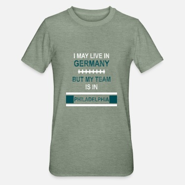 Philadelphia Eagles Teamet mitt er i Philadelphia Eagles fan design - Unisex Polycotton T-skjorte