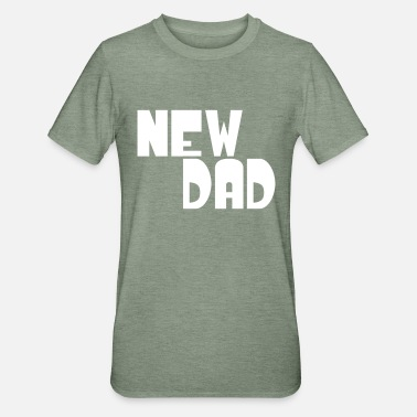 New new dad - Unisex Polycotton T-Shirt