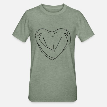 Heart - Unisex Polycotton T-Shirt