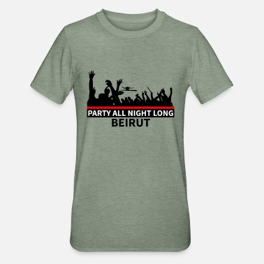 Beirut Party All Night Long Beirut - Unisex Polycotton T-Shirt