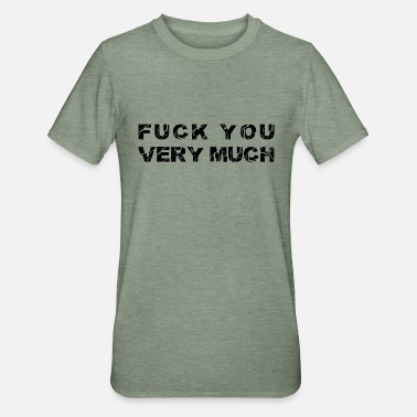 Exven Fuck it yourself FCK DU FUCK - Unisex polycotton T-shirt