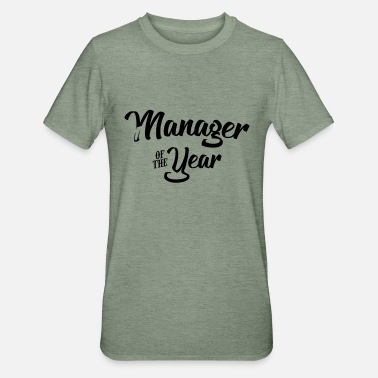 Manager manager of the year 2107 2018 2019 - Unisex Polycotton T-Shirt