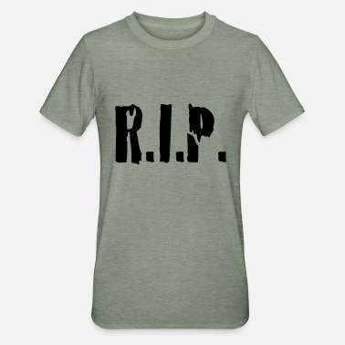 Rest In Peace r.i.p. rip rest in peace - Unisex polypuuvilla-t-paita